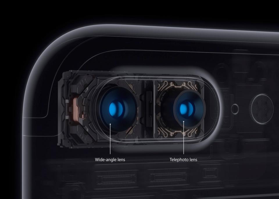 Hệ thống camera kép của Iphone 7 plus