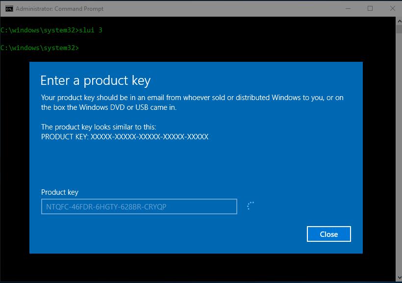 cách crack windows 10 version 1709