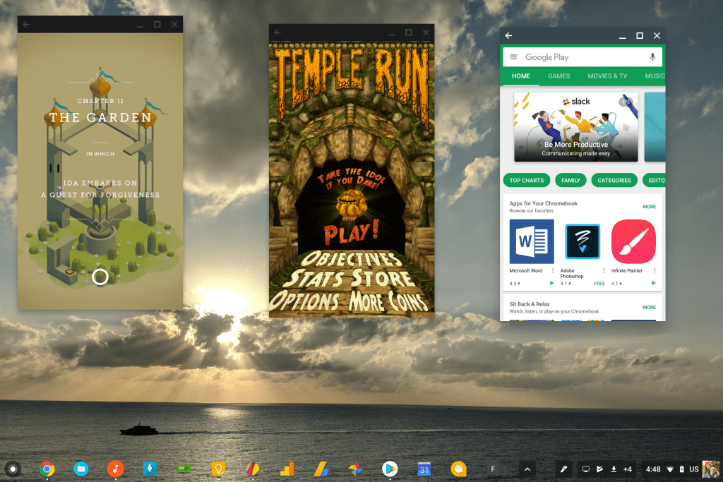 Sắp tới, ứng dụng Android trên Chrome OS vẫn có thể hoạt động khi đang chạy nền