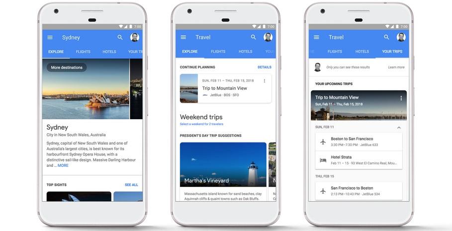 Người dùng sắp có thể đặt phòng khách sạn hoặc chuyến bay thông qua tìm kiếm trên Google