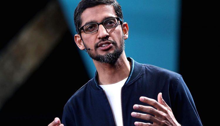 (Sundar Pichai - CEO Google)