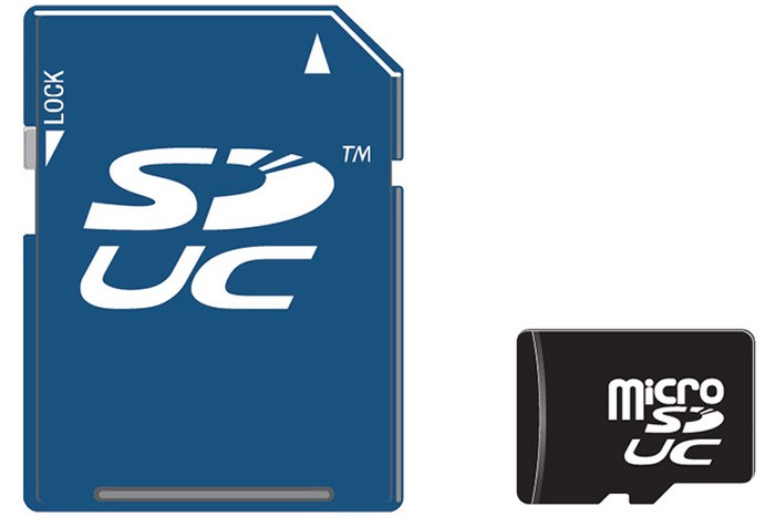 Thẻ nhớ SD mới có dung lượng khủng lên đến 128TB