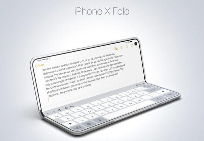 Ý tưởng thiết kế iPhone X Fold này có thể là câu trả lời của Apple dành cho Galaxy Fold của Samsung - Ảnh 4.
