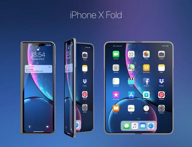 Ý tưởng thiết kế iPhone X Fold này có thể là câu trả lời của Apple dành cho Galaxy Fold của Samsung - Ảnh 2.