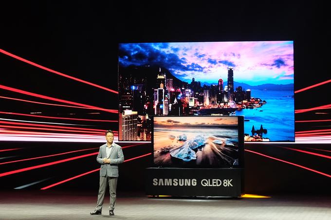 TV Samsung QLED 8K về Việt Nam, giá từ 119 triệu đồng