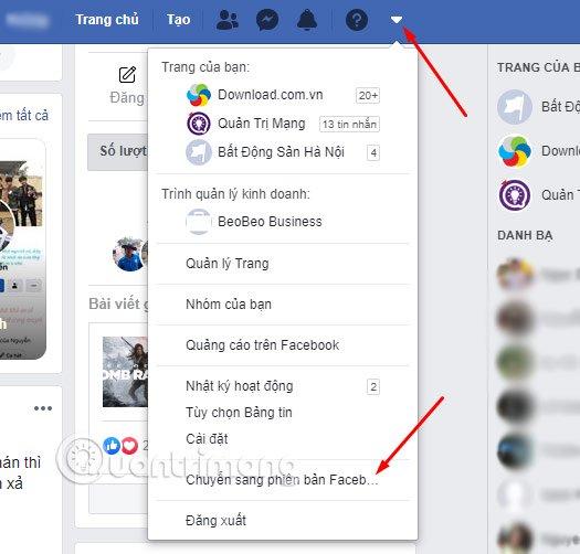 Cách đổi giao diện Facebook mới 2020 - Quantrimang.com