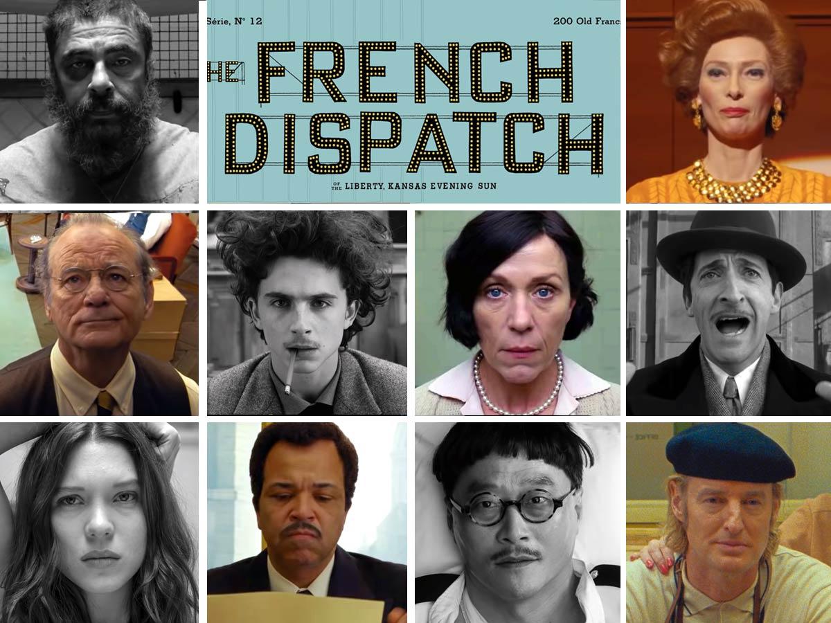 ✅ REVIEW - 🎬 XEM PHIM] Bức Thư Pháp (The French Dispatch)