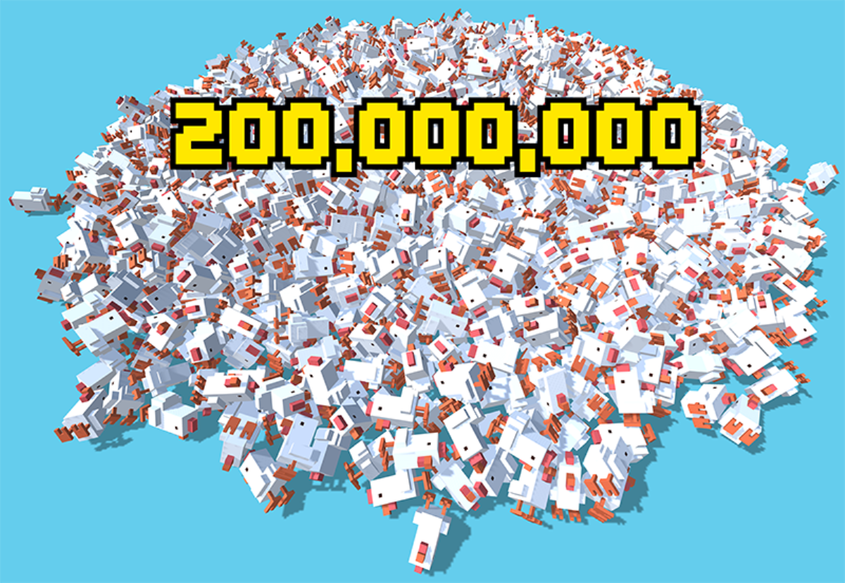 Crossy Road's just hit 200 million downloads and it's celebrating ...
