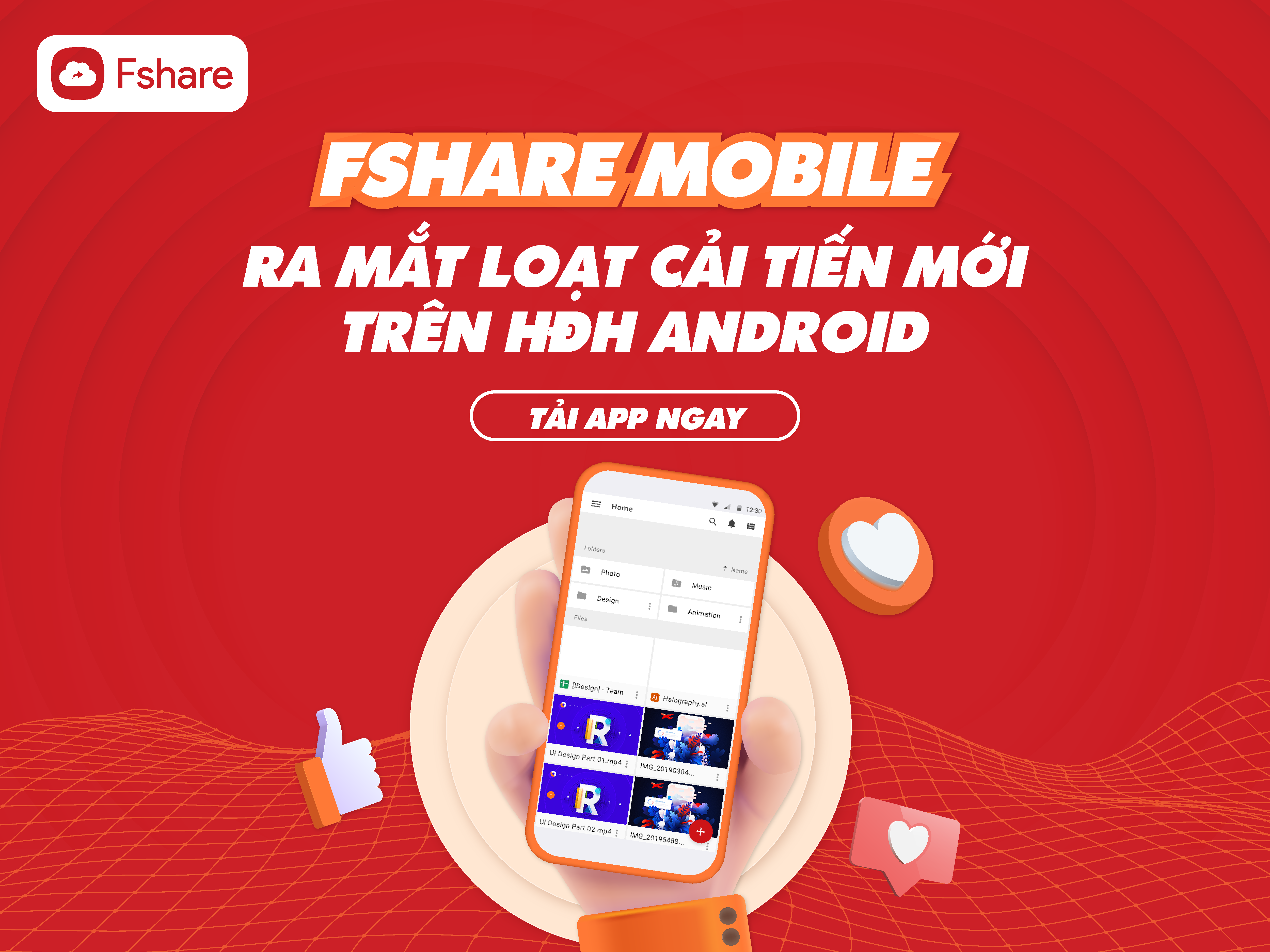 Fshare mobile app
