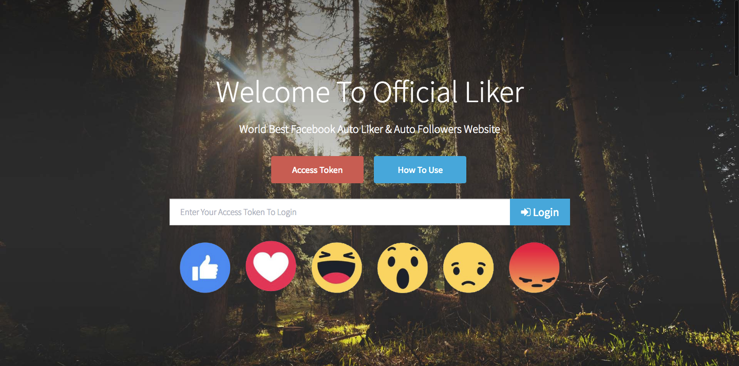 Official Liker - Free Facebook Auto Liker