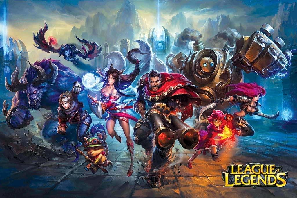 Buy League of Legends II - Game Poster 24in x 36in Online in Vietnam. B07DV3VY1Y