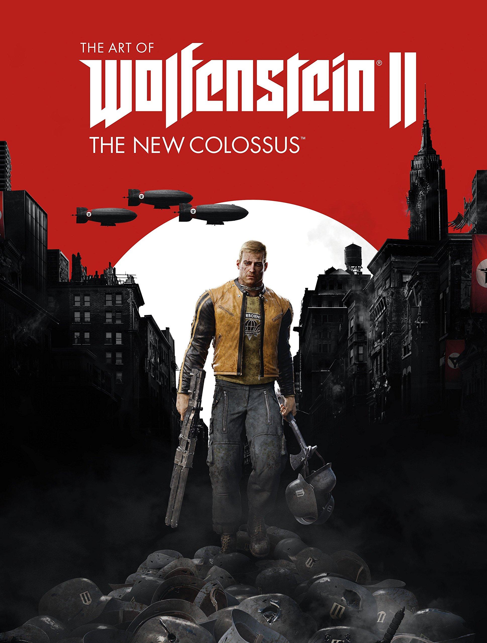 Amazon.com: The Art of Wolfenstein II: The New Colossus: 9781506705279: MachineGames, Bethesda Softworks: Books