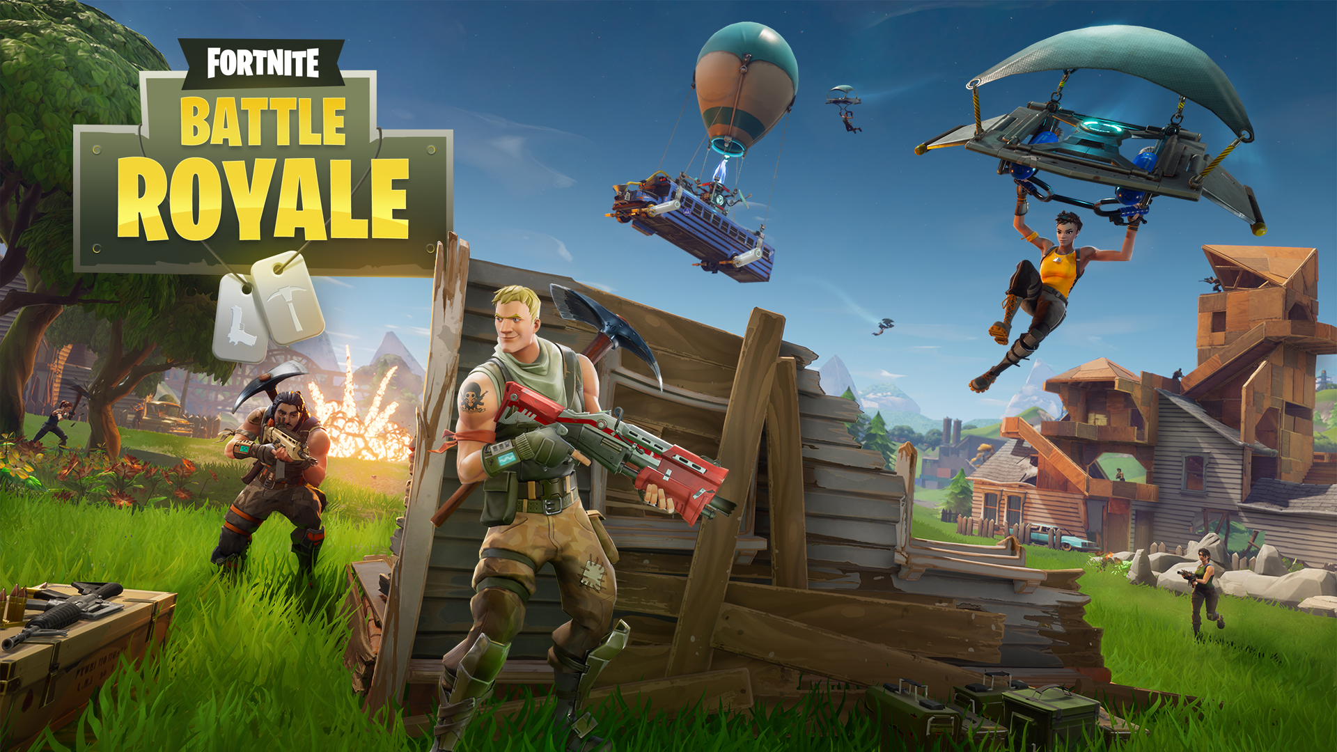 Fortnite: Battle Royale chạm mốc một triệu người chơi sau ngày đầu tiên - Tin Game
