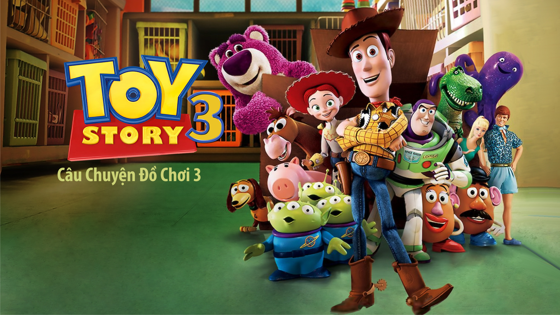 Câu Chuyện Đồ Chơi 3   Toy Story 3   VieON